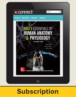 Shier, Hole's Essentials of Human Anatomy and Physiology, High School Ed, 2018, 1e, Connect with APR 6-year subscription