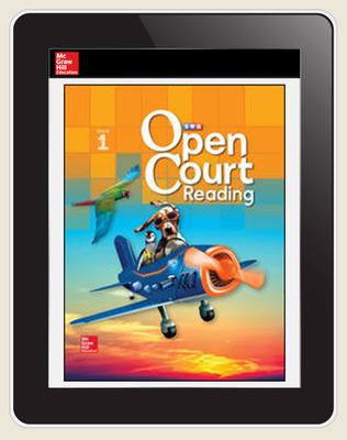 Open Court Reading Grade 1 Teacher License, 5-year subscription