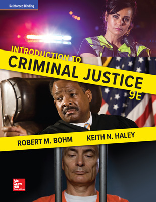 Bohm, Introduction to Criminal Justice, 2018, 9e, Student Bundle (Student Edition with ConnectED eBook), 1-year subscription