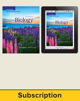 Bidlack, Stern's Introduction to Plant Biology, 2018, 14e, Student Bundle (Student Edition with ConnectED eBook), 6-year subscription