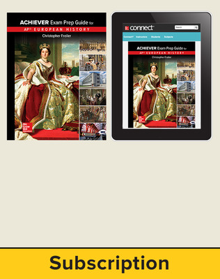 Freiler, AP Achiever Exam Prep Guide European History, 2017, 2e, Standard Student Bundle (Student Edition with Connect), 6-year subscription