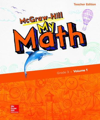 McGraw-Hill My Math, Teacher Center 3 Year Subscription Grade 3