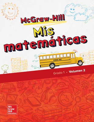 McGraw-Hill My Math, Grade 1, Spanish Student Edition, Volume 2