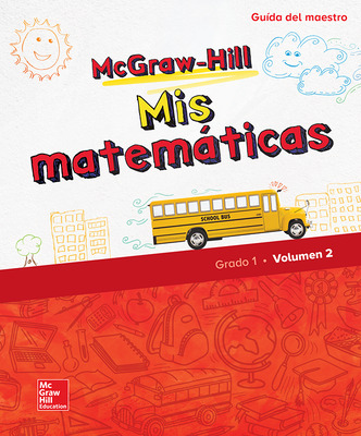 McGraw-Hill My Math, Grade 1, Spanish Teacher Edition, Volume 2