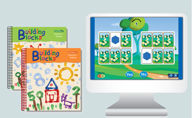 Building Blocks PreK, Updated Teacher Materials Bundle, 6 year
