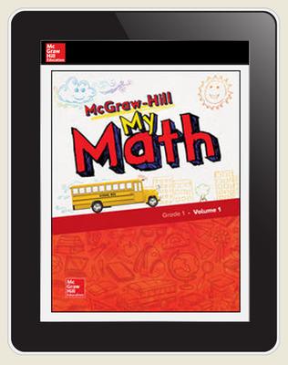 McGraw-Hill My Math, Student Center 5 Year Subscription Grade 1