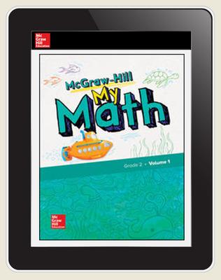 McGraw-Hill My Math, Student Center 5 Year Subscription Grade 2