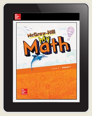 McGraw-Hill My Math, Student Center 5 Year Subscription Grade 3