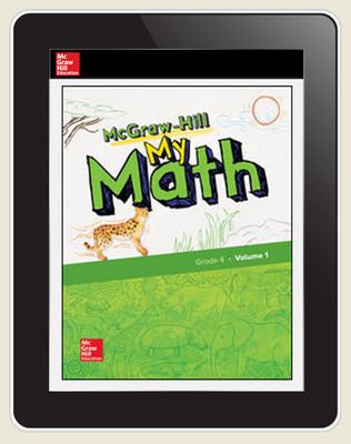 McGraw-Hill My Math, Student Center 5 Year Subscription Grade 4