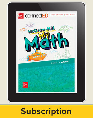 McGraw-Hill My Math, Student Center 1 Year Subscription Grade 2