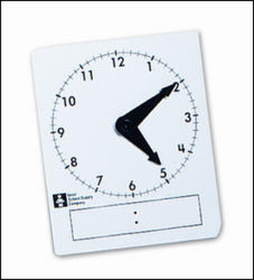 My Math and Reveal Math Student Clocks, Pkg of 15