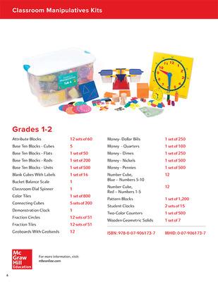 My Math Manipulative Kit, Grades 1-2