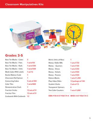 My Math Manipulative Kit, Grades 3-5