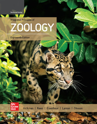 Hickman, Integrated Principles of Zoology, 2020, 18e, Online Student Edition, 8 yr subscription