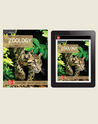 Hickman, Integrated Principles of Zoology, 2020, 18e, Standard Student Bundle (Student Edition with Online Student Edition) 1-year subscription