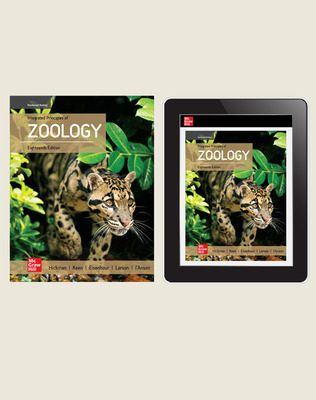 Hickman, Integrated Principles of Zoology, 2020, 18e, Standard Student Bundle (Student Edition with Online Student Edition) 6-year subscription