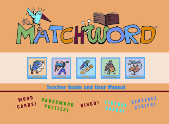 MatchWord: CD-ROM and Teacher Guide