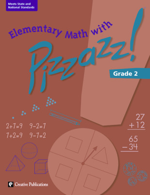 Elementary Math with Pizzazz!: Grade 2