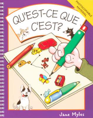 ?Qu 'est-ce que c?est? (Includes Book (1) and Audiocassette (1))