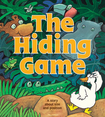 Growing with Math, Grade Pre-K, Math Literature: Hiding  Game Concept Lap Book