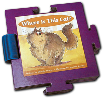 Storyteller Puzzle Books, Where Is This Cat?