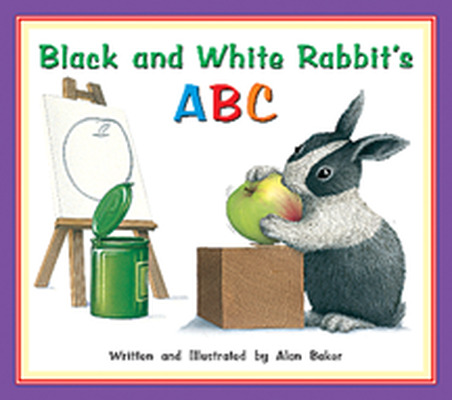 Storyteller Concept Books, Black and White Rabbit's ABC