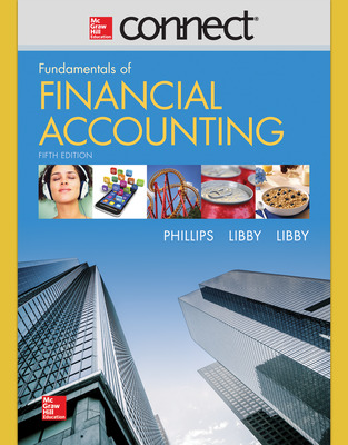 Connect 1 Semester Online Access for Fundamentals of Financial Accounting