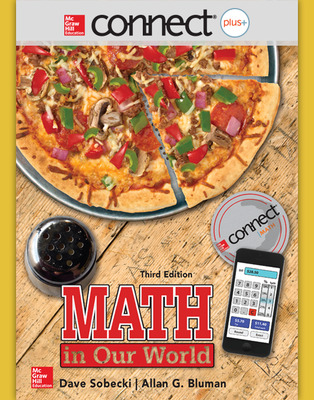 Connect Math hosted by ALEKS Online Access 52 Weeks for Math in Our World