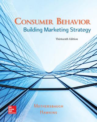 consumer behavior building marketing strategy 10th edition pdf