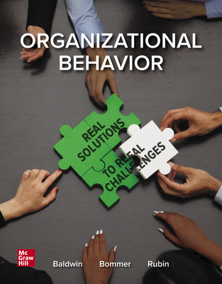 SmartBook Online Access for Managing Organizational Behavior