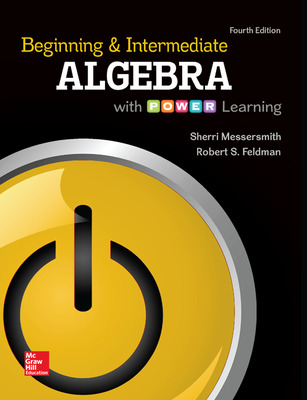 ALEKS 360 Online Access (18 weeks) for Beginning and Intermediate Algebra with P.O.W.E.R. Learning