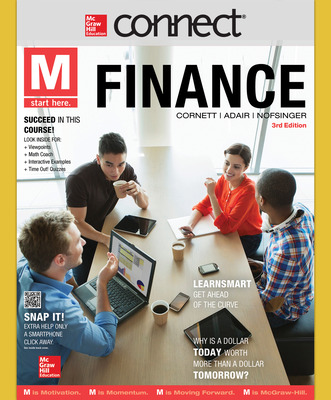 Connect 1 Semester Online Access to accompany M: Finance