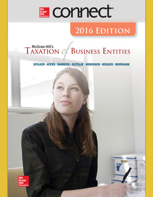 Connect 1 Semester Online Access for McGraw-Hill's Taxation of Business Entities, 2016 Edition