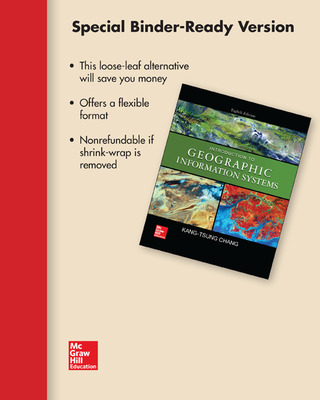 Loose Leaf for Introduction to Geographic Information Systems