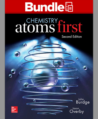 Package: Loose Leaf Chemistry - Atoms First with Connect 1-semester Access Card