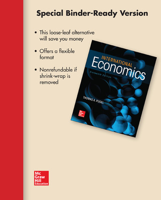 Loose Leaf International Economics with Connect Access Card