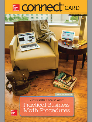 Connect Online Access for Practical Business Math Procedures