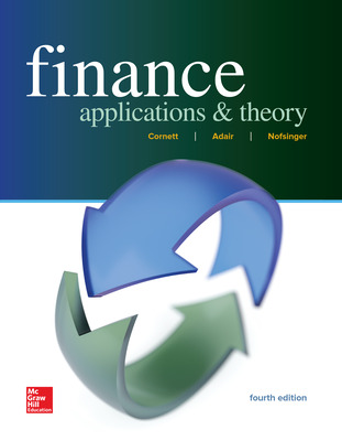 Finance: Applications and Theory