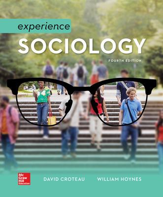 Experience Sociology 4/e