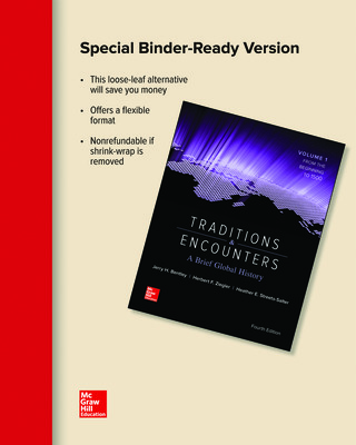 Looseleaf for Traditions & Encounters: A Brief Global History Volume 1