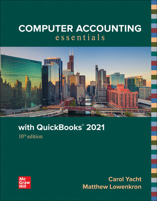 Computer Accounting Essentials with QuickBooks 2021