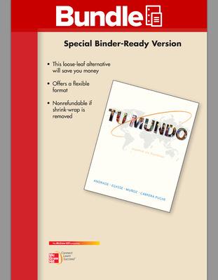GEN COMBO LL TU MUNDO; CONNECT AC; PRACTICE SPANISH STUDY ABROAD AC