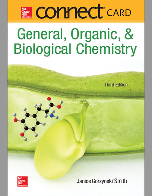 Connect 1-Semester Online Access for General, Organic, & Biological Chemistry