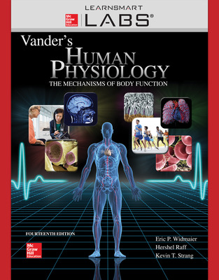 Connect with LearnSmart Labs Online Access for Vanders Human Phys