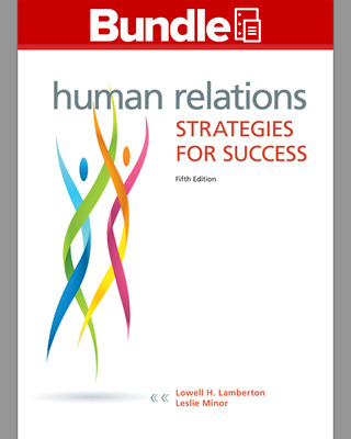 GEN COMBO LL HUMAN RELATIONS; CONNECT ACCESS CARD HUMAN RELATIONS