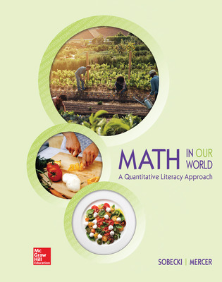 Loose Leaf for Math in Our World: A Quantitative Literacy Approach