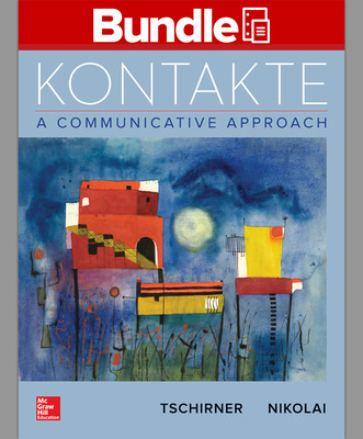 GEN COMBO LL KONTAKTE; WORKBOOK/LABORATORY MANUAL KONTAKTE