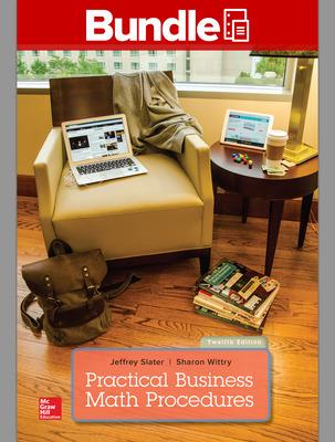 GEN COMBO LL PRACTICAL BUSINESS MATH PROCEDURES W/HANDBOOK; CONNECT ACCESS CARD
