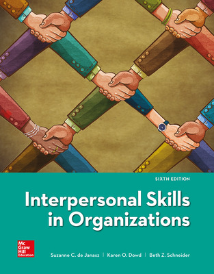 Interpersonal Skills in Organizations