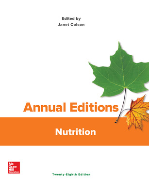 Annual Editions: Nutrition